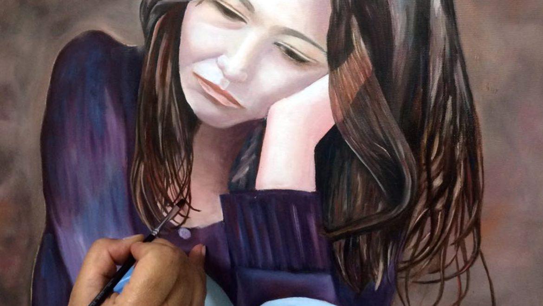 סדנת ציור פורטרט בצבעי שמן